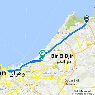 W75, Bir El Djir to Unnamed Road, Bir El Djir