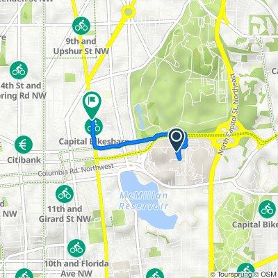 104 Irving St NW, Washington to 666–698 Park Rd NW, Washington