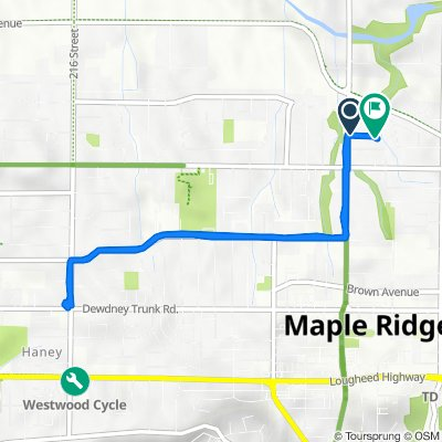 22401 125th Ave, Maple Ridge to 22446 125th Ave, Maple Ridge