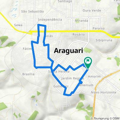 De Rua Abrão Calil, 260, Araguari a Rua Abrão Calil, 260, Araguari