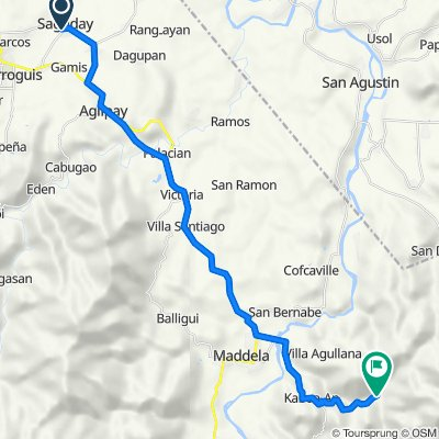 Provincial Road 200, Saguday to Unnamed Road, Maddela