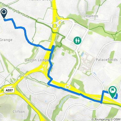 Festival Way 18 to Ainley Close 6