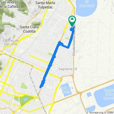 Iztacalco 232, Ecatepec de Morelos to Iztacalco 232, Ecatepec de Morelos