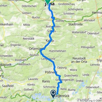 Linkenmühle 92, Gössitz nach Westbahnhofstraße 14, Jena