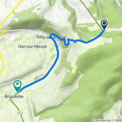 D171c, Saint-Mihiel to 4 Grandrue la Grande Rue, Han-sur-Meuse