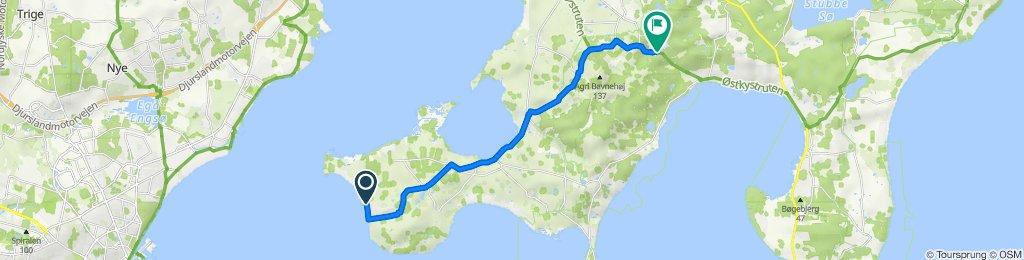 Vestre Strandvej 24, Landborup to Krypten 1, Ebeltoft