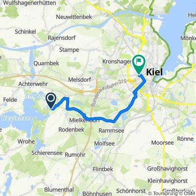 Marutendorf, Achterwehr nach Gellertstraße 12, Kiel