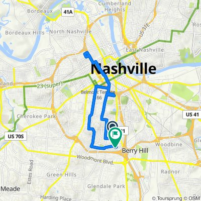 700–764 Montrose Ave, Nashville to 906B Gale Ln, Nashville