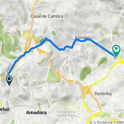 De Estrada Águas Livres 99, Amadora a 2675-626, Odivelas