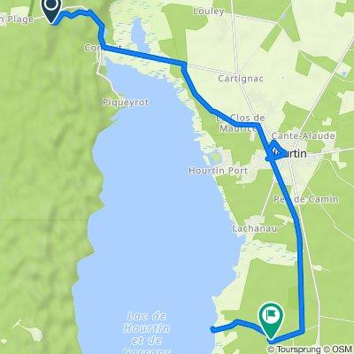 De D101E7, Hourtin à Camping l'Acacia - Aire naturelle, Hourtin