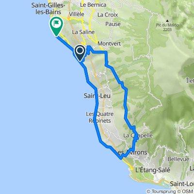 De Réunion, Trois Bassins à Rue du Lagon 55, La Saline-Les-Bains
