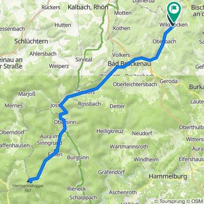 Am Kirchberg 8, Wildflecken nach Jahnstraße 28, Wildflecken