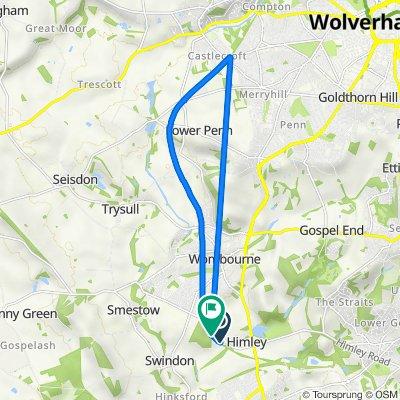 S Staffordshire Railway Walk, Himley, Dudley to S Staffordshire Railway Walk, Himley, Dudley