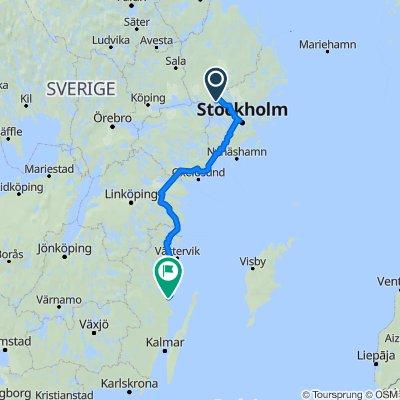 Hagviksvägen 11 to Skeppsbron 2