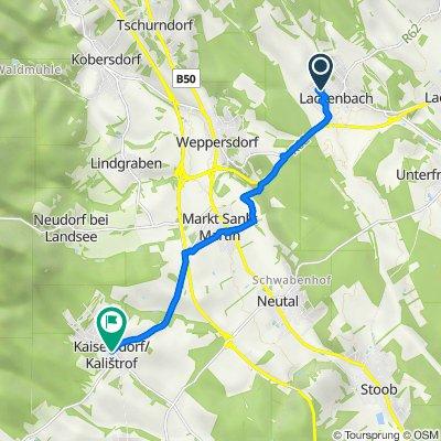 Neustiftgasse 5, Lackenbach nach L331 40, Kaisersdorf