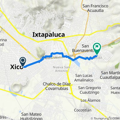 De Oriente 9 656, Xico a Francisco Villa 40, San Jerónimo Cuatro Vientos