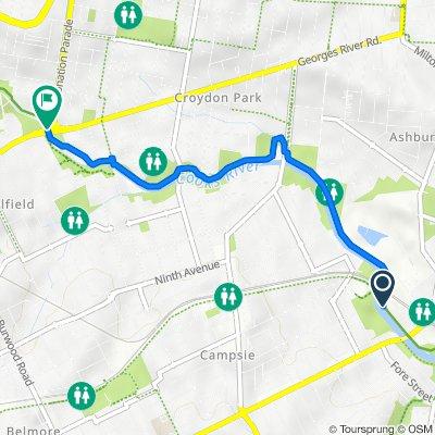Charles Street 15, Canterbury to Cooks River Path, Croydon Park
