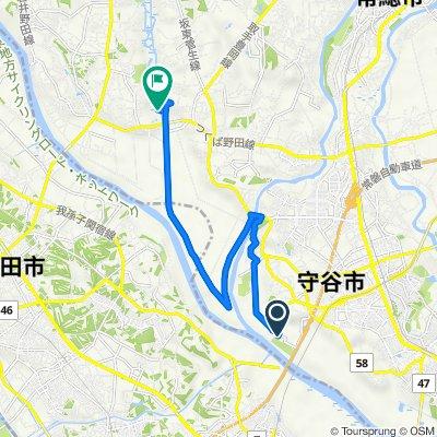 3773-4, Nogisaki, Moriya to Sugaomachi, Joso