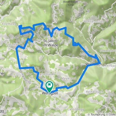 Arzbergrunde von Wenigzell