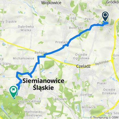 Trasa do Wschodnia 21A–25, Chorzów