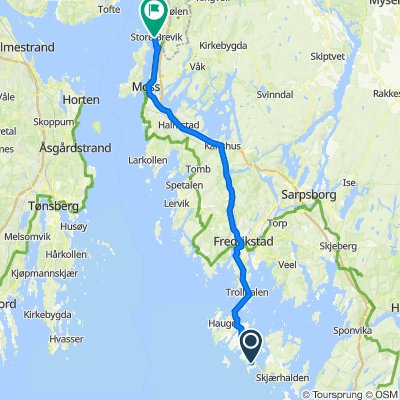 Vikerveien 142, Vesterøy to Hubrosvingen 19, Son