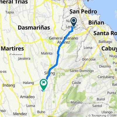 Rizal Avenue 42, General Mariano Alvarez to Emilio Aguinaldo Highway 327, Silang
