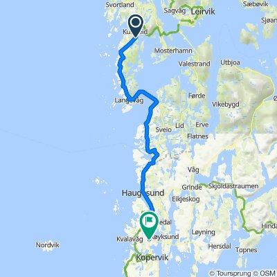 Bømlavegen, Finnås to Håvikvegen, Håvik