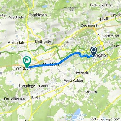 Almondvale Business Park, Almondvale Way, Livingston to 2 Laburnum Road, Bathgate