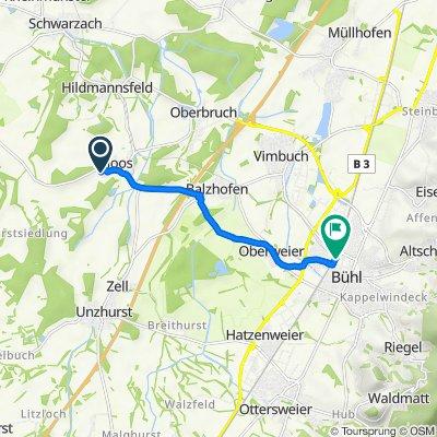 Sommerau 5B, Bühl nach Bühl ZOB/Bahnhof
