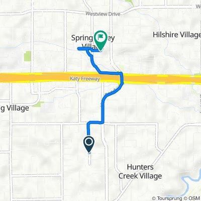653–661 Pifer Rd, Hunters Creek Village to 8711 Winningham Ln, Spring Valley