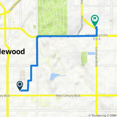 East 99th Street 504, Inglewood to Crenshaw Boulevard 8444, Inglewood
