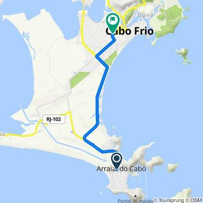 Cicloturismo Costa do Sol - 8o. Dia - Arraial do Cabo X Cabo Frio