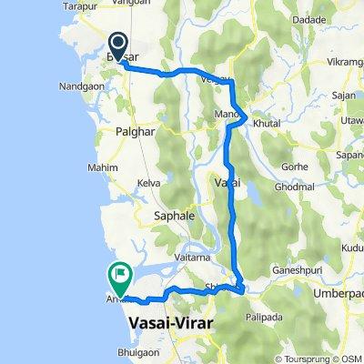 Unnamed Road, Boisar to Virar