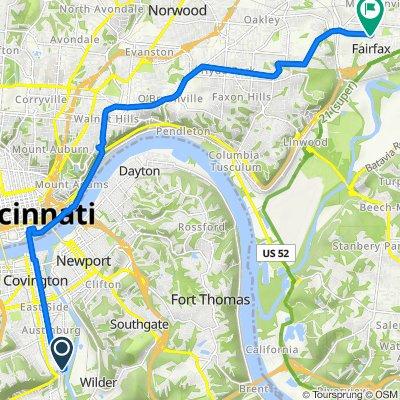 217 Adams Ave, Covington to 5923 Murray Ave, Cincinnati