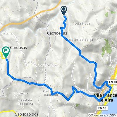 Route to Cruzamento Cardosas, Cardosas