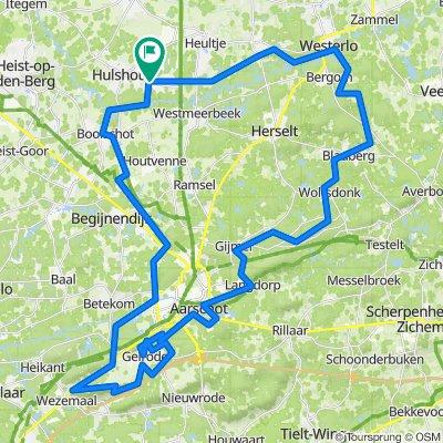 Grote Baan 263, Hulshout naar Grote Baan 275, Hulshout