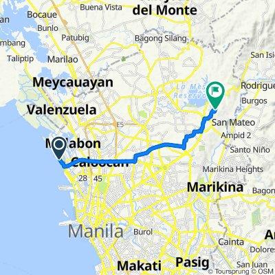 Gov. A. Pascual Street 301, Navotas to Silay 8, Quezon City