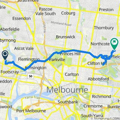 36 Empire Street, Footscray to 254-256 Wingrove Street, Fairfield