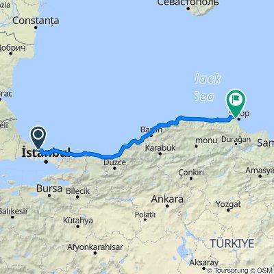 Türkei Istanbul-Sinop