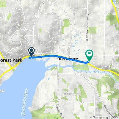 Burke-Gilman Trail, Kenmore to 17620 80th Ave NE, Kenmore