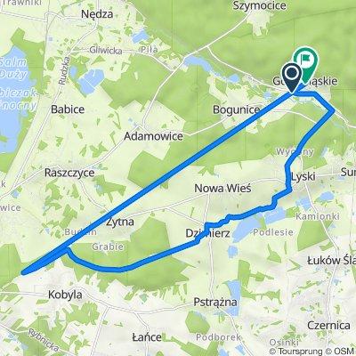 Ofiar Oświęcimskich 28, Górki Śląskie do Leśna 4, Górki Śląskie