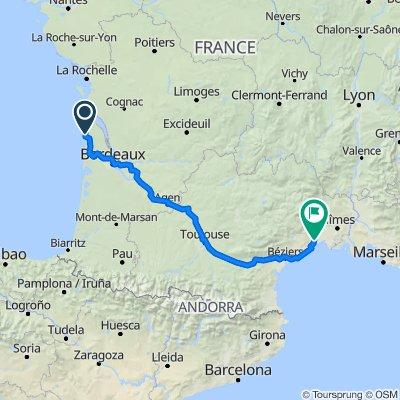 De Route du Pin Sec 60, Naujac-sur-Mer a Lounis Dexter, Montpellier