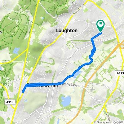 7 Deepdene Path, Loughton to 9 Deepdene Path, Loughton