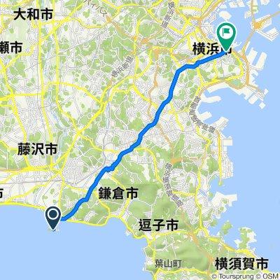 Enoshima, Fujisawa to Yamashitacho, Naka, Yokohama