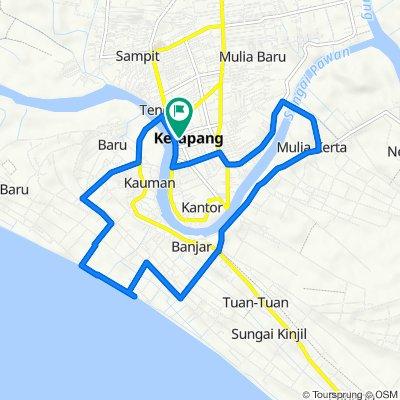 Jalan Imam Bonjol 150, Delta Pawan to Jalan Imam Bonjol 150, Delta Pawan