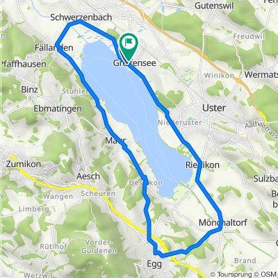 Ländlihölzliweg 2–24, Greifensee nach Breitistrasse 5, Greifensee
