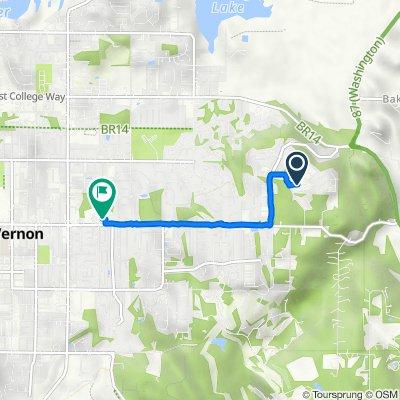 Razor Peak Drive 5241, Mount Vernon to East Division Street 2601, Mount Vernon