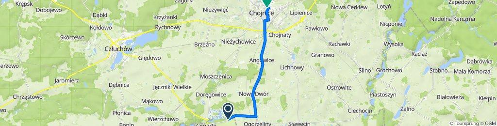 Jerzmionki do Chojnice