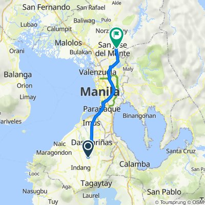 Unnamed Road, General Trias to Francisco Homes-Mulawin, San Jose del Monte City