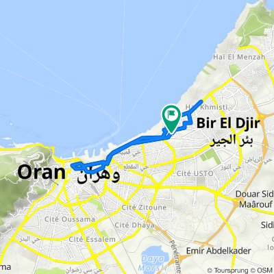 Avenue Acimi Smail, Bir El Djir to وهران